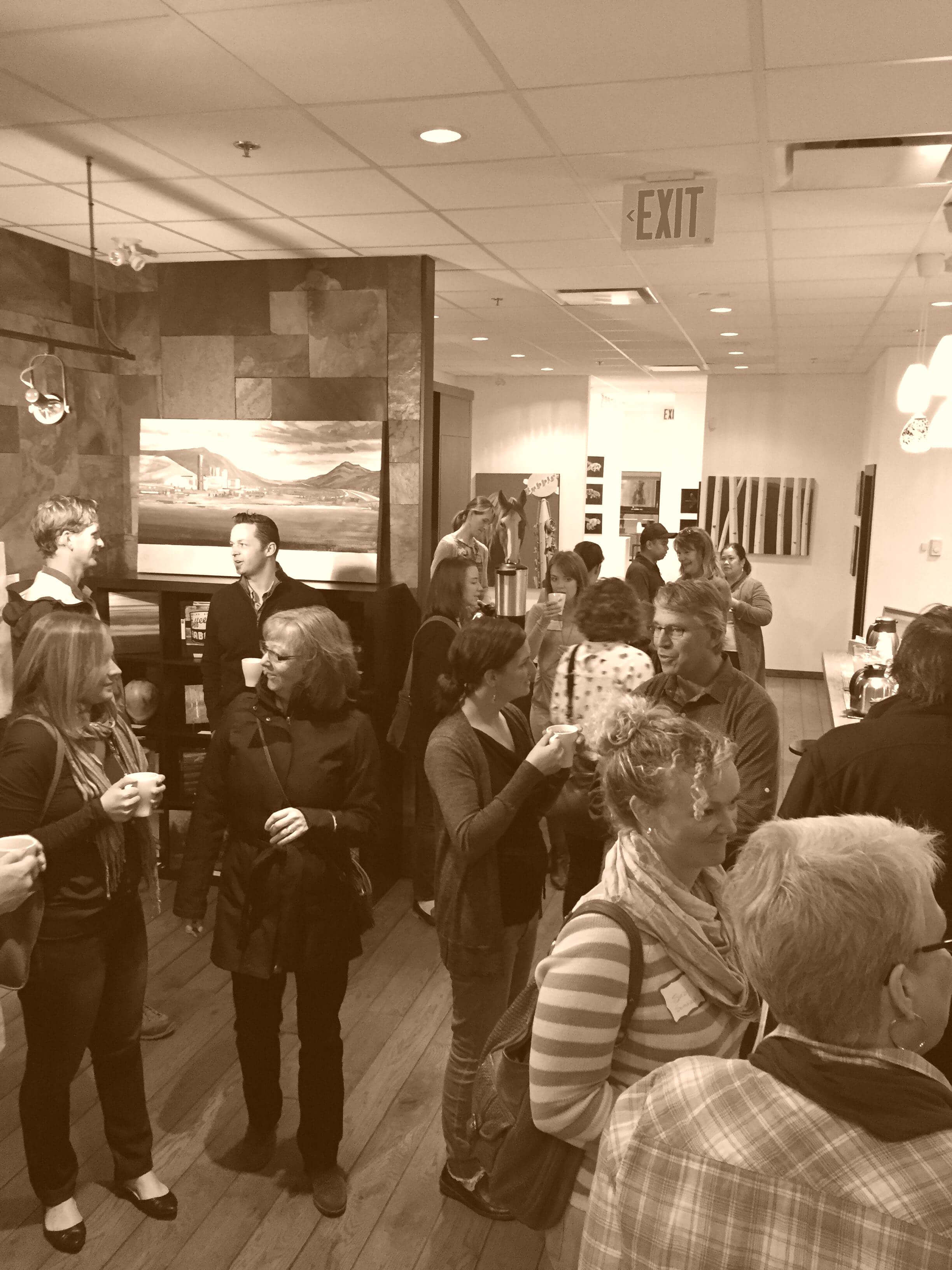 Canmore Chamber Conversation Cafe October