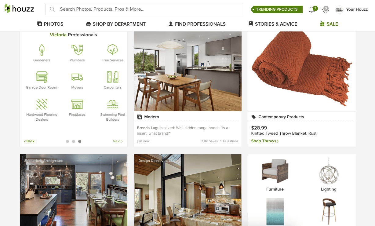 How Houzz can send qualified potential clients to your website