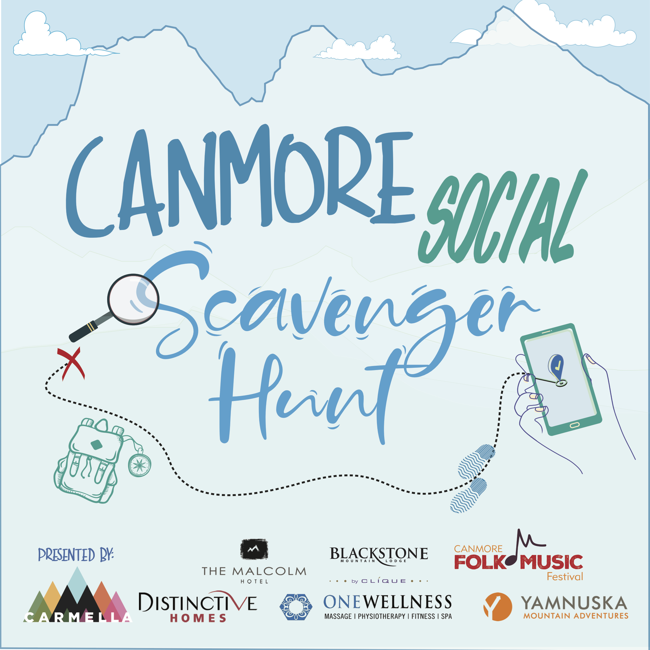 Canmore Social Scavenger Hunt